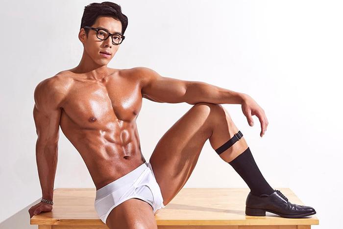 Kang Doo Hyung glasses